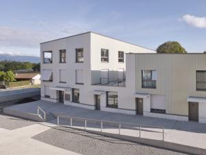 Vukoja Goldinger Architekten Wohnungsbau Prés-Grange, Corsier